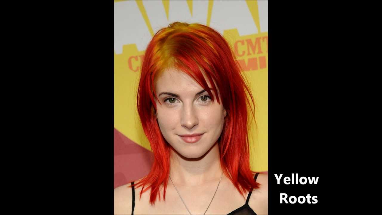 Hayley Williams Hair Colors 2005 2012 Youtube
