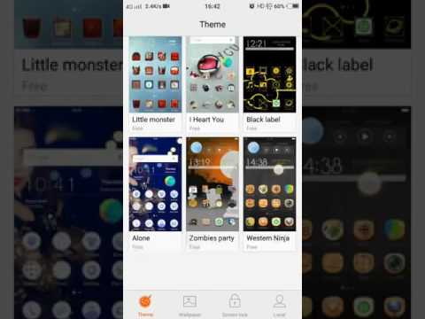 How to change theam in VIVO V5
