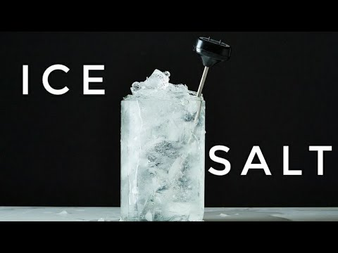 What Happens When You  Mix Salt Water And Ice?