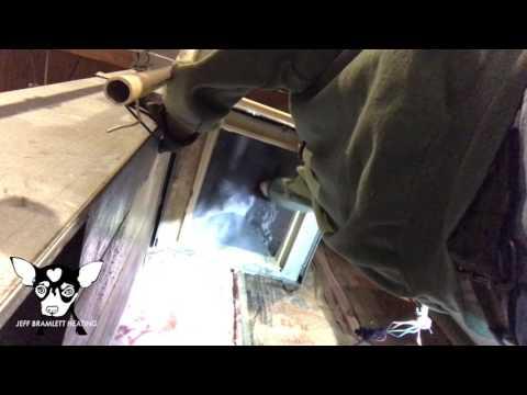 FURNACE: dirty evaporator coil