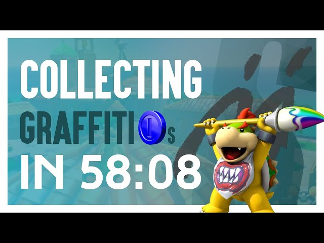 Collecting All Graffiti Blue Coins in Mario Sunshine VERY FAST