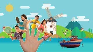 Finger Family Song of Rei's Family | Daddy Finger Video