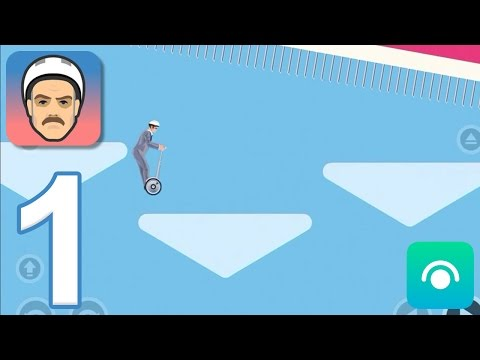 Happy Wheels Mobile - Gameplay Walkthrough Part 1 - Business Guy: Levels 1-5 (iOS, Android)