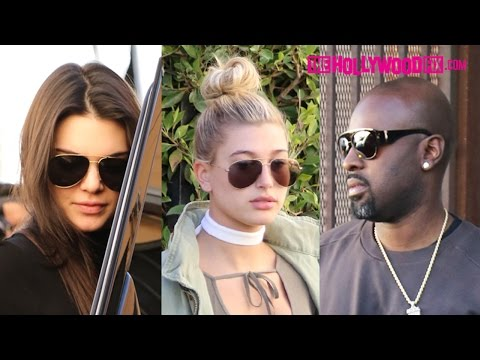 Kendall Jenner & Hailey Baldwin Go Christmas Shopping For The Holidays With Lauren Perez12.18.15