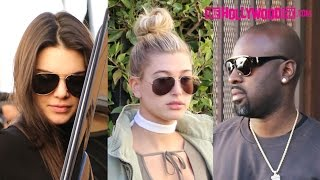 Kendall Jenner & Hailey Baldwin Go Christmas Shopping For The Holidays With Lauren Perez