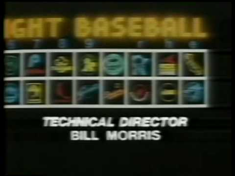 Monday Night Baseball Opening 1979