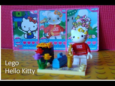Lego hello kitty minifigure youtube - Lego hello kitty maison ...