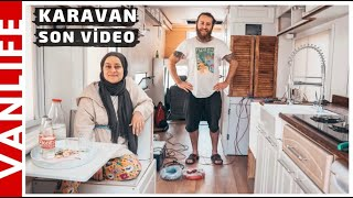 KARAVAN TUVALET ve BANYO | KARAVAN YAPIMI SON VİDEO | SON DOKUNUŞLAR | Hello People VanLife