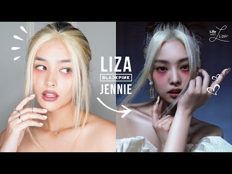 Liza Tries   Jennie's teaser look for the How You Like That MV