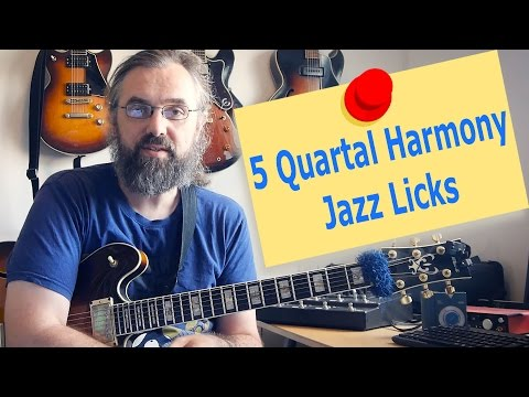 Quartal and Quintal Harmony