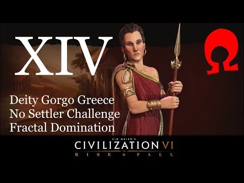 Omega Alden Plays Civilization 6 Rise and Fall - Gorgo Greece - Part 14