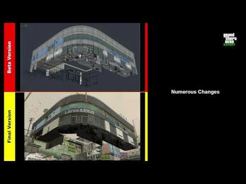 GTA 5 Beta Screenshots revealed by ex-Rockstar dev: GTA V beta Analysis #3 (Vinewood beta version)