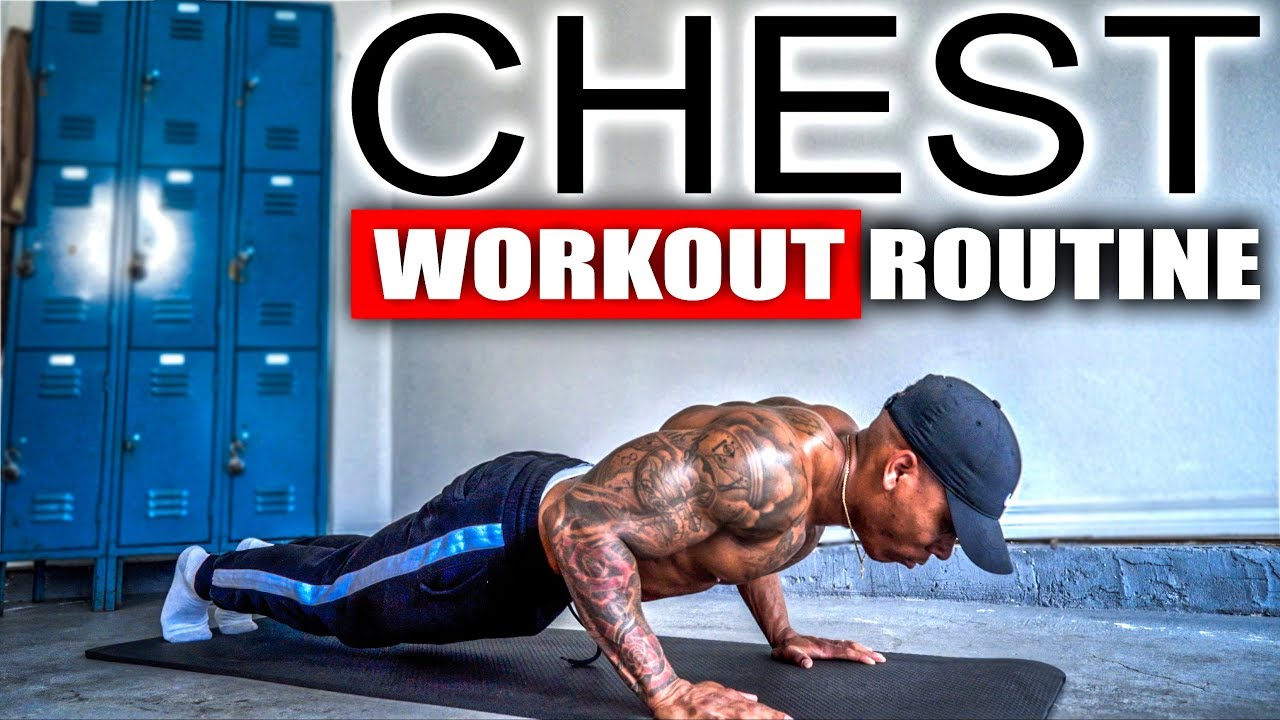 Ten Minute chest workout