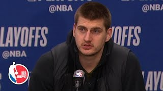 The Nuggets need to make open shots to beat the Spurs - Nikola Jokic | NBA on ESPN