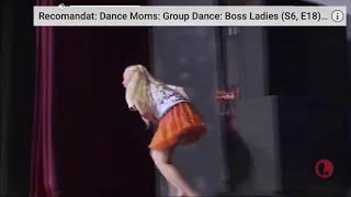 Fan favourite dance moms audio Swap with I like me better(dance moms luverz competition)
