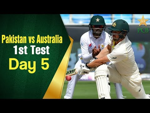Pakistan Vs Australia In UAE 2018 | 1st Test Day 5 Full Highlights | PCB