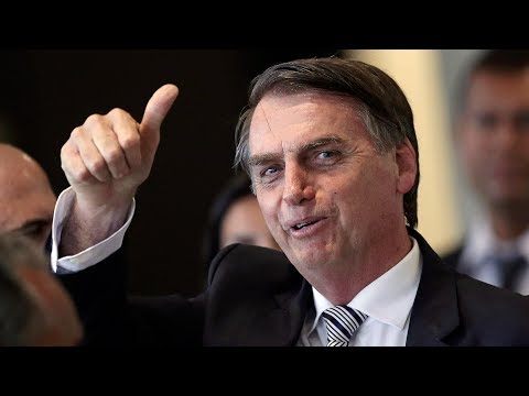 Brazil inaugurates far-right president Jair Bolsonaro