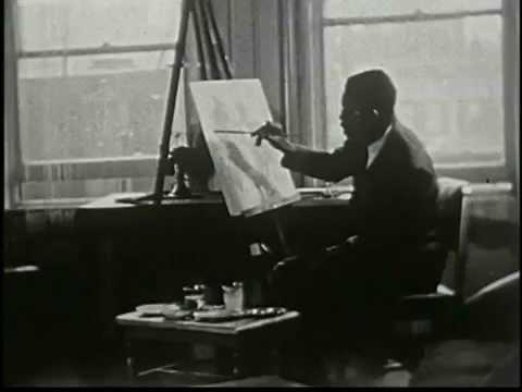 Aaron Douglas: African-American painter  (1898-1979)