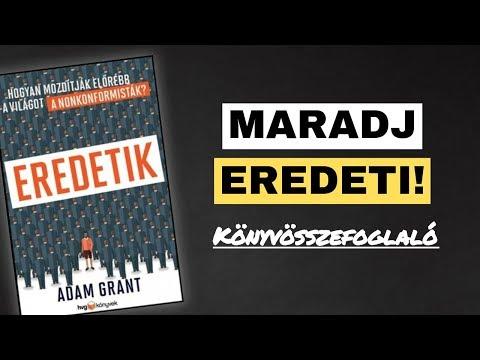Adam Grant: Eredetik (tömör könyvek 4.rész) thumbnail