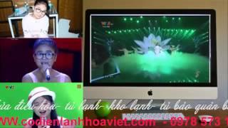 Nguyễn Thiện Nhân  Biết Ơn Chị Võ Thị Sáu  Giọng hát việt nhí 2014