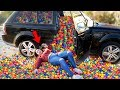 Ball Pit PRANK in my Twin Sister