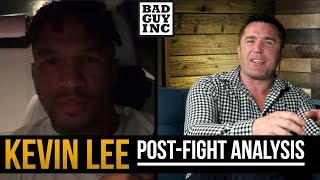 Kevin Lee training with Georges St-Pierre for Islam Makhachev fight...
