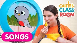 Little Robin Redbreast | Nursery Rhymes from Caitie's Classroom