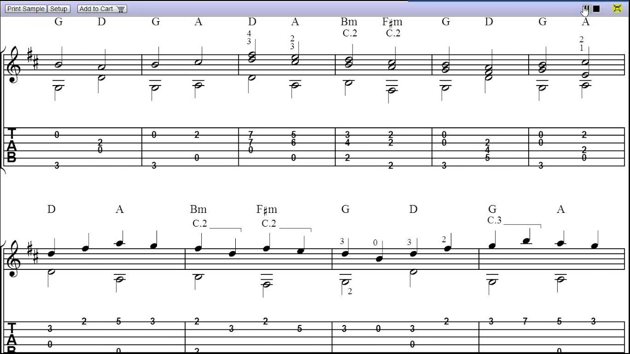 Canon In C Guitar Chords Image Collections Basic Guitar Chords