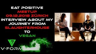 Vegan Talks About Slaughterhouse Experience - INTERVIEW At Meetup