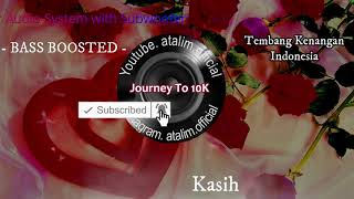 Car Subwoofer Music Test Limit Chrisye Pergilah Kasih Extreme Bass Boosted [ atalim official ]