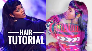 Download WE BRINGING THE MULLET BACK OR NAH? Rihanna Mullet haircut Step by step Tutorial Mp3 and Videos