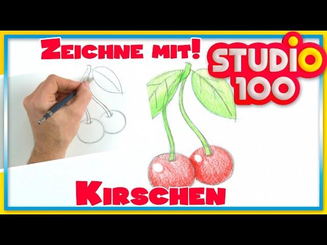 Zeichnen lernen mit Maja! ? Kirschen zeichnen für Anfänger
