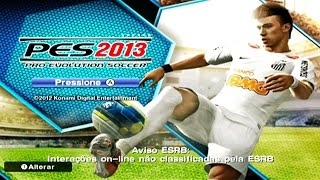 PES 2013 no NINTENDO WII !!! (Gameplay Wii)