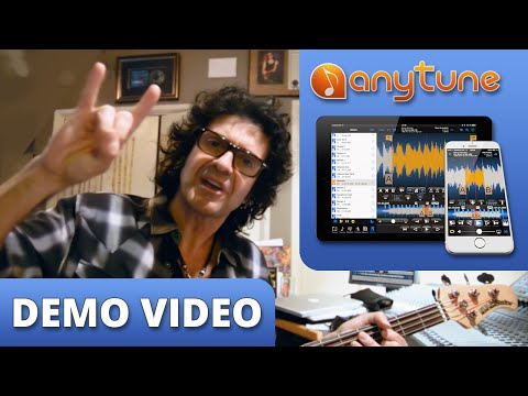 Phil Soussan Learns Songs/Sets Easily with Anytune's Pitch Shifting - Bass Guitar Better
