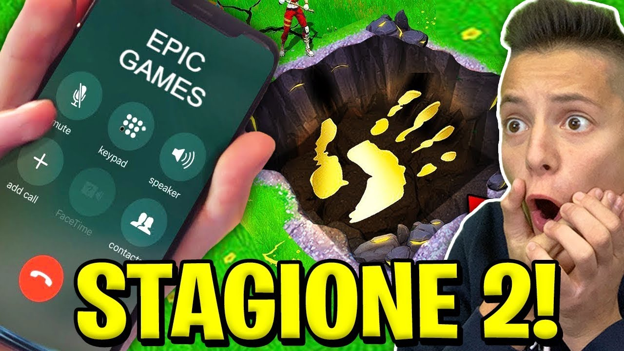 CHIAMO la EPIC GAMES e mi SVELA la STAGIONE 2 di FORTNITE! ???? Fortnite News ITA