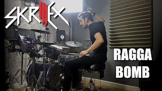 Skrillex Ragga Bomb Drum Cover Remix