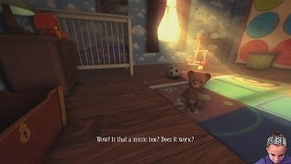 Teddy Is A Bad Inlfuence | Among The Sleep Ep-1 | Gaming With Kayla