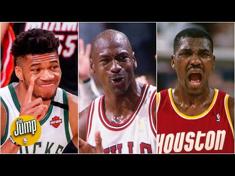 Will Giannis join Michael Jordan and Hakeem Olajuwon in NBA awards history?   The Jump