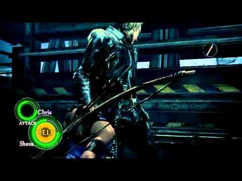 Resident Evil 5: Wesker gets bitch slapped