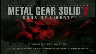 Metal Gear Solid 2: Sons of Liberty PS2 Gameplay HD (PCSX2)