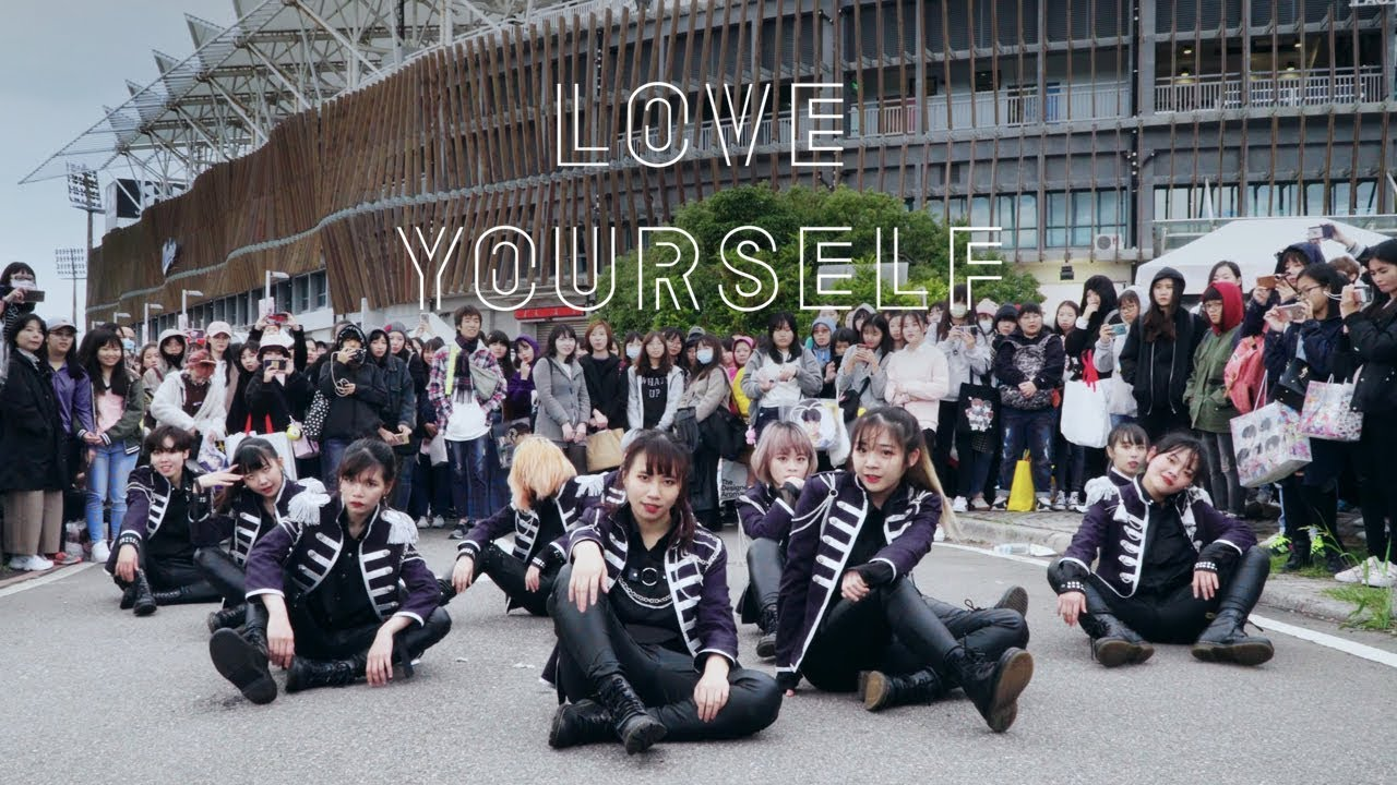 Kpop In Public Challenge Bts Dna Fake Love Idol Dance Cover By Dazzling From Taiwan
