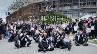 [KPOP IN PUBLIC CHALLENGE] BTS(방탄소년단) _ DNA + FAKE LOVE + IDOL Dance Cover by DAZZLING from Taiwan