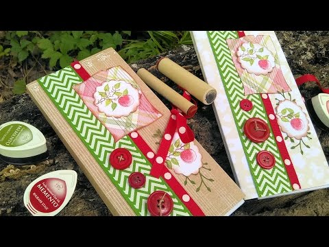 Fancy Apple Notepad // Great Gift for Teacher! //Back to School Craft