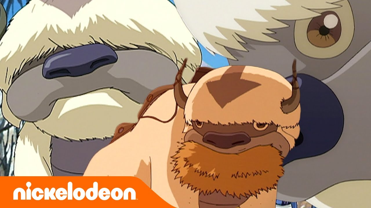 Download Avatar: The Last Airbender   Appa si Bison Terbang   Nickelodeon Bahasa