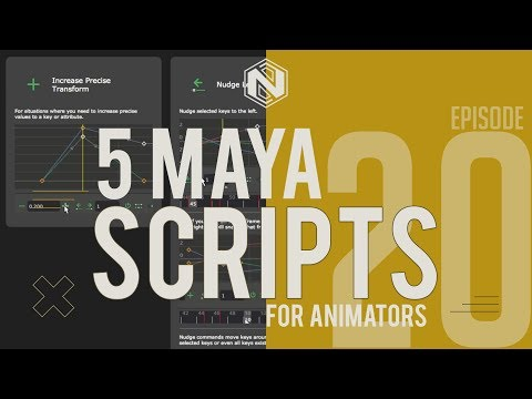 5 MAYA SCRIPTS For Animators