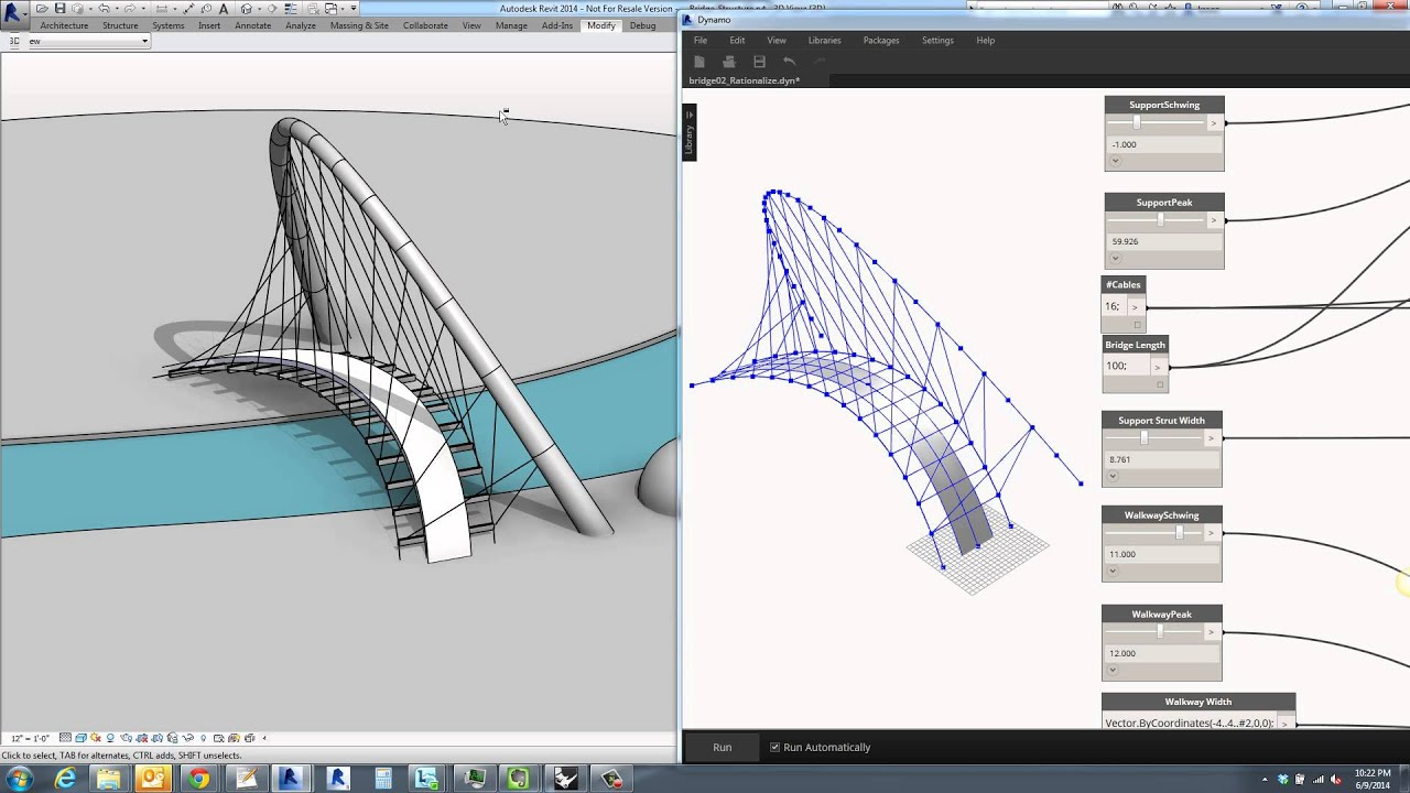 Free 3d Floor Plan Design Software Dynamo Bridge Layout To Revit Structural Elements Youtube