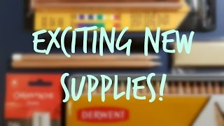 This week's video is a quick overview on my recent art supply purch...