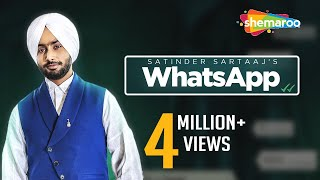 New Punjabi Songs 2016 | Satinder Sartaaj | Whatsapp | Jatinder Shah | Latest Punjabi Songs 2016
