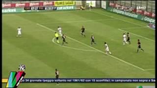 Cagliari - Palermo  2-2 - Ampia Sintesi - SKY HD 18-04-2010