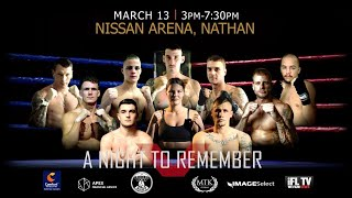 LIVE PROFESSIONAL BOXING! - (FROM AUSTRALIA) MTK GLOBAL PRESENTS - 'A NIGHT TO REMEMBER' (FULL CARD)